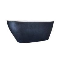 Ванна вільностояча Besco Goya Glam 160 графіт 160x70 без переливу