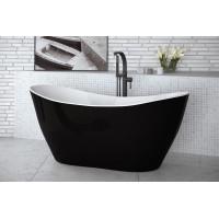 Ванна вільностояча Besco Viya B&W 160  160x70 без переливу