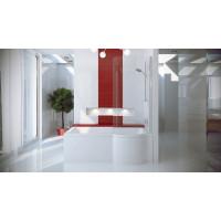 Штора для ванни Besco Inspiro права 76x150 прозоре скло