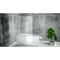 Ванна акрилова асиметрична Besco Integra170 ліва 170x75 без ніжок