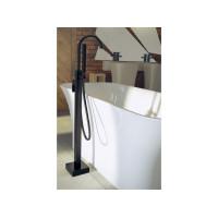 Підлоговий змішувач для ванни Modern II чорний матовий