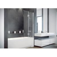 Штора для ванни Besco Prestigio 80x150 прозоре скло