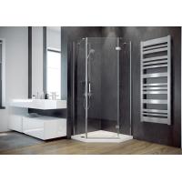 П'ятикутна душова кабіна Besco Viva pięciokątna 195 права 90x90x195 прозоре скло