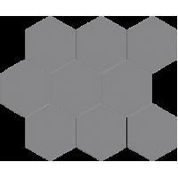Мозаїка Cerrad Cambia gris lappato heksagon 27,53x33,4 (36743)