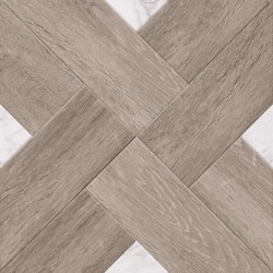 плитка Golden Tile Marmo Wood Cross темно-бежевий 40x40 (4VН87)