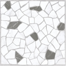 плитка Golden Tile Mosaic Stone біла 30x30 (8F074)