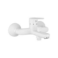 Змішувач для ванни Imprese Laska білий (10040W)