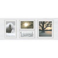 декор InterCerama Indy светло-серый 23x60 (Д 118 071-1)