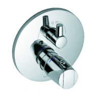 Змішувач для ванни і душу прихованого монтажу з термостатом Kludi Objekta хром (358300538)