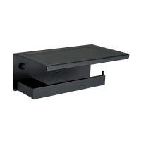 Тримач для туалетного паперу Asignatura Unique чорний матовий (85606802)