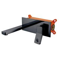 Змішувач внутрішнього монтажу для раковини Asignatura Unique чорний матовий (85501902)