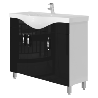 Тумба Ювента Trento Trn-100 чорна