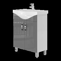 Тумба Ювента Trento Trn-65 сіра