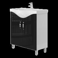 Тумба Ювента Trento Trn-75 чорна