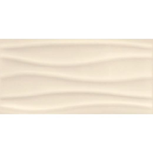 Плитка Opoczno Old Provence beige glossy wave 29,7×60