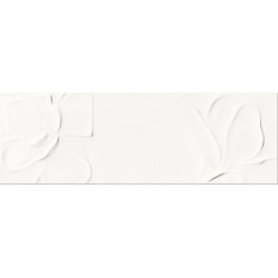 плитка Opoczno Structure Pattern White Flower Structure 25X75 (OP365-004-1)