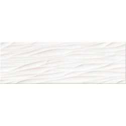 плитка Opoczno Structure Pattern White Wave Structure 25X75 (OP365-006-1)