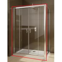 Елемент душової кабіни Radaway Premium Plus DWD+S двері DWD 180 прозоре скло (33373-01-01N)