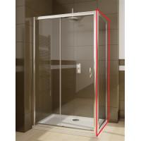 Бокова стінка душової кабіни Radaway Premium Plus DWJ+S  S 90 скло фабрік (33403-01-06N)