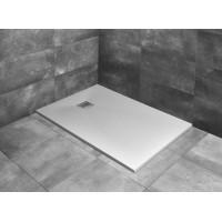Душовий піддон з конгломерату мармурового Radaway Kyntos F white 900x800 (HKF9080-04)