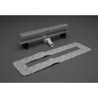 Лінійний трап Radaway 950 мм для укладання плитки товщиною вiд 8 до 12 мм  5L095A / 5R095X