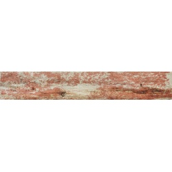 Плитка Tubadzin Shabby Chic Red 89,8x14,8