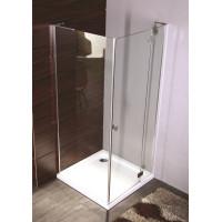 Комплект душова кабіна + піддон  Volle BENITA 90x90 з прозорим склом права (10-22-905 R)