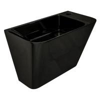 Умивальник моноблок підвісний VOLLE Teo 500x280x350 чорний (13-88-601black)