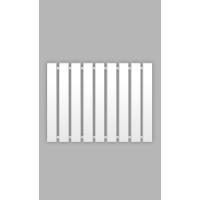 Рушникосушка Genesis-Aqua Batteria 120x60 см, білий