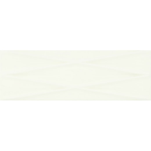 плитка Opoczno MERIDIAN WHITE LINES STRUCTURE GLOSSY 25X75